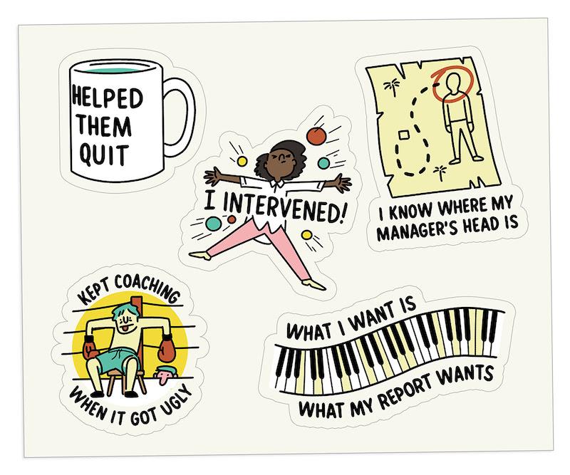 The Bent Good Boss Achievement Stickers Strategies Edition