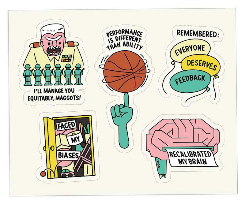 The Bent Good Boss Achievement Stickers Unbiased Edition